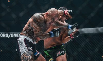Tiebreaker Times Brandon Vera suffers first loss in six years at hands of N Sang Mixed Martial Arts News ONE Championship  ONE: Century Brandon Vera Aung La N Sang