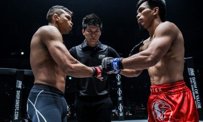 Tiebreaker Times Belingon, Fernandes bury rivalry, dine after ONE: Century Mixed Martial Arts News ONE Championship  Team Lakay ONE: Century Kevin Belingon Bibiano Fernandes