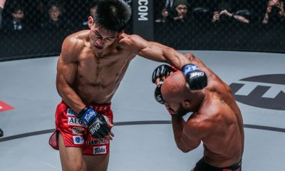 Tiebreaker Times Danny Kingad shows he can keep up with Demetrious Johnson Mixed Martial Arts News ONE Championship  Team Lakay ONE: Century Danny Kingad