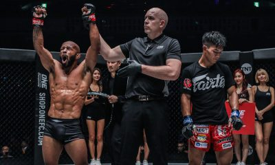 Tiebreaker Times Danny Kingad overwhelmed by Demetrious Johnson in ONE GP Final Mixed Martial Arts News ONE Championship  Team Lakay ONE: Century Demetrious Johnson Danny Kingad