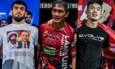 Tiebreaker Times Eduard Folayang sees 'Dagi' as slight favorite in GP Final Mixed Martial Arts News ONE Championship  Saygid Guseyn Arslanaliev ONE: Century Eduard Folayang Christian Lee