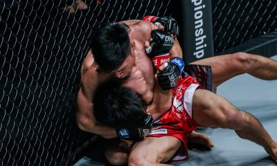 Tiebreaker Times Lito Adiwang makes sensational ONE Championship debut Mixed Martial Arts News ONE Championship  Team Lakay Senzo Ikeda ONE: Century Lito Adiwang