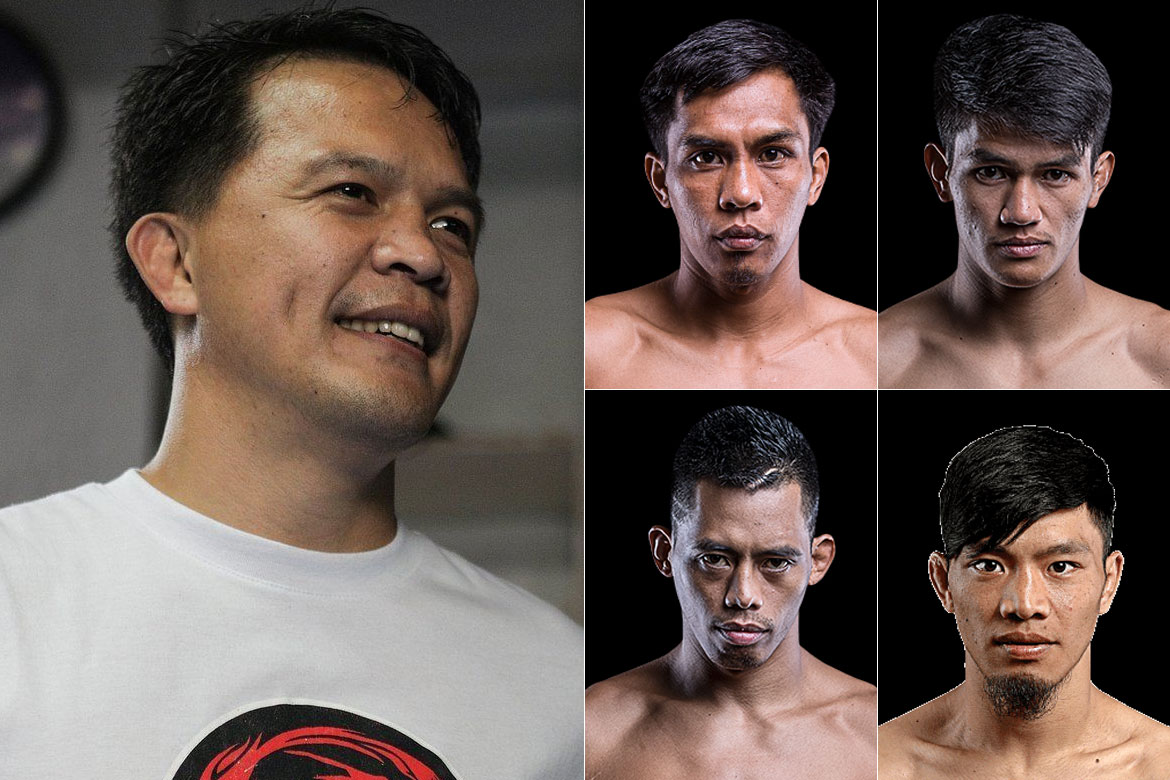 Tiebreaker Times How Mark Sangiao is preparing himself for a crazy October Mixed Martial Arts News ONE Championship  Team Lakay ONE: Century Mark Sangiao