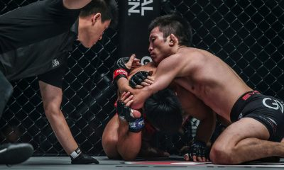 Tiebreaker Times Aoki makes quick work of Honorio Banario Mixed Martial Arts News ONE Championship  Team Lakay Shinya Aoki ONE: Century Honorio Banario