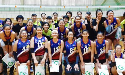 Tiebreaker Times Morado, Valdez 'made the most' of shortened time with PWNVT in Japan 2019 SEA Games News Volleyball  Philippine Women's National Volleyball Team Jia Morado Alyssa Valdez 2019 SEA Games - Volleyball 2019 SEA Games