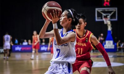 Tiebreaker Times Gilas Women's dealt rout by China in FIBA Women's Pre-OQT finale Basketball Gilas Pilipinas News  Patrick Aquino Kelli Hayes Janine Pontejos Gilas Pilipinas Women China (Basketball) Afril Bernardino 2019 FIBA Asia Women's Pre-Olympic Qualifying Tournament