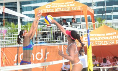 Tiebreaker Times SiPons to face Gervacio-Rodriguez in Rebisco Open Finals Beach Volleyball BVR News  KR Guzman Jude Garcia Jaron Requinton Edmar Bonono Dzi Gervacio Dij Rodriguez Cherry Rondina Bernadeth Pons 2019 Rebisco Beach Volleyball International Open