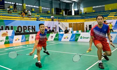 Tiebreaker Times Magnaye, Morada duo moves to SMART National Open QF Badminton News  Trisha Ponce Thea Pomar Sarah Barredo Samantha Ramos Ros Pedrosa Lyrden Laborte Keoni Asuncion Jochelle Alvarez Jerickson Obaob JC Clarito David Linaban Carlo Remo Ariel Magnaye Alyssa Leonardo Alvin Morada 2019 SMART National Open Badminton Tournament