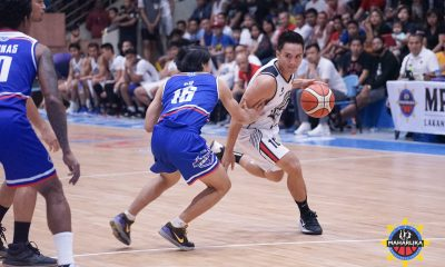 Tiebreaker Times Pacquiao, MPBL suspend SOCCSKARGEN Marlins for alleged game-fixing Basketball MPBL News  Spencer Eman SOCCSKARGEN Marlins RJ Diwa Norman Gonzales Manny Pacquiao Julio Magbanua Joshua Alcober Jerome Juanico Janus Lozada Hamsar Macantal Exe Biteng Excell Nocos Bong Melocoton Abraham Santos 2019-20 MPBL Lakan Cup