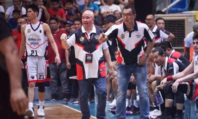 Tiebreaker Times Goldwin Monteverde resigns as Batangas-Tanduay head coach, to focus on NU Basketball MPBL News NU UAAP  Woody Co UAAP Season 82 Boys' Basketball UAAP Season 82 Rena Baena NU Boys Basketball Niko Abatayo Marvin Carro Goldwin Monteverde Bernard de Guia Batangas City-Tanduay Athletics 2019-2020 MPBL Lakan Cup