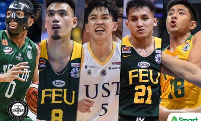 Tiebreaker Times Subido, Haruna, FEU troika to try luck in PBA Draft Basketball CSB FEU NCAA News PBA UAAP UST  Yankie Haruna UST Men's Basketball UAAP Season 82 Men's Basketball UAAP Season 82 Renzo Subido PBA Season 45 NCAA Season 95 Seniors Basketball NCAA Season 95 ino comboy Hubert Cani FEU Men's Basketball Benilde Seniors Basketball Barkley Ebona 2019 PBA Draft