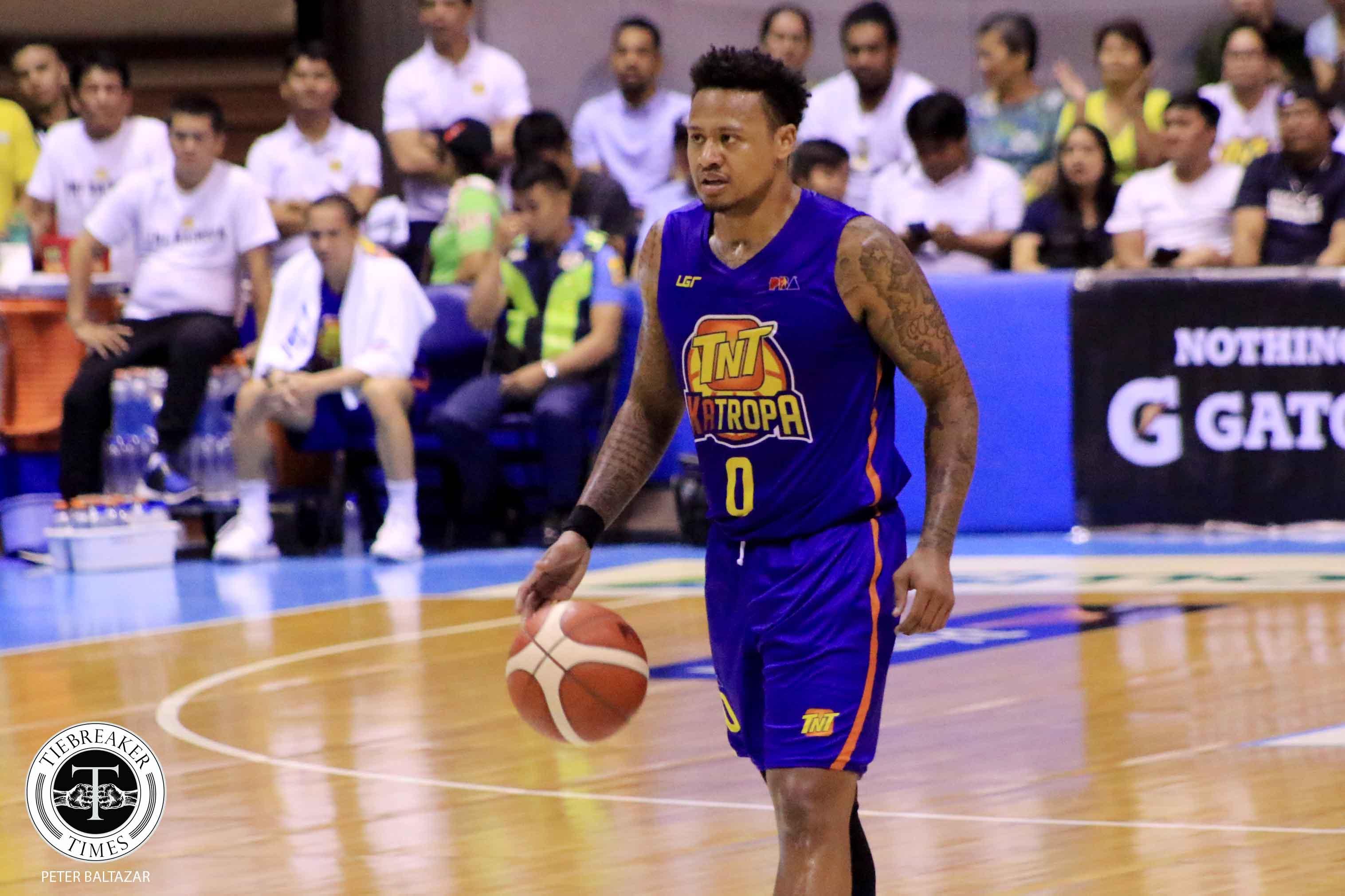 Tiebreaker Times Ray Parks takes full responsibility for TNT's loss Basketball News PBA  TNT Katropa PBA Season 44 Bobby Ray Parks Jr. 2019 PBA Governors Cup
