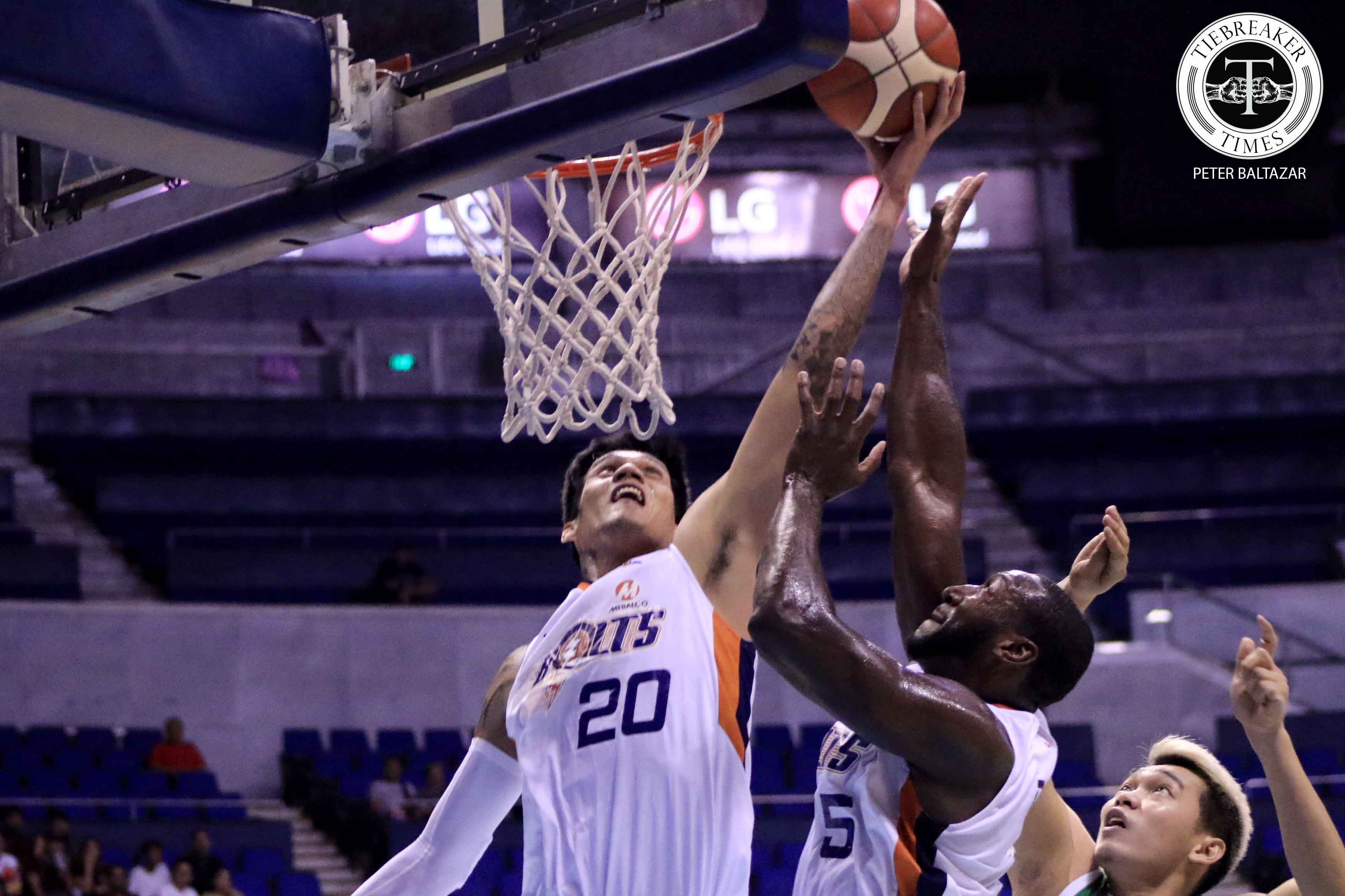 Tiebreaker Times Almazan knows he can grab 30 boards after hauling 24 vs Columbian Basketball News PBA  Raymond Almazan PBA Season 44 Norman Black Meralco Bolts 2019 PBA Governors Cup