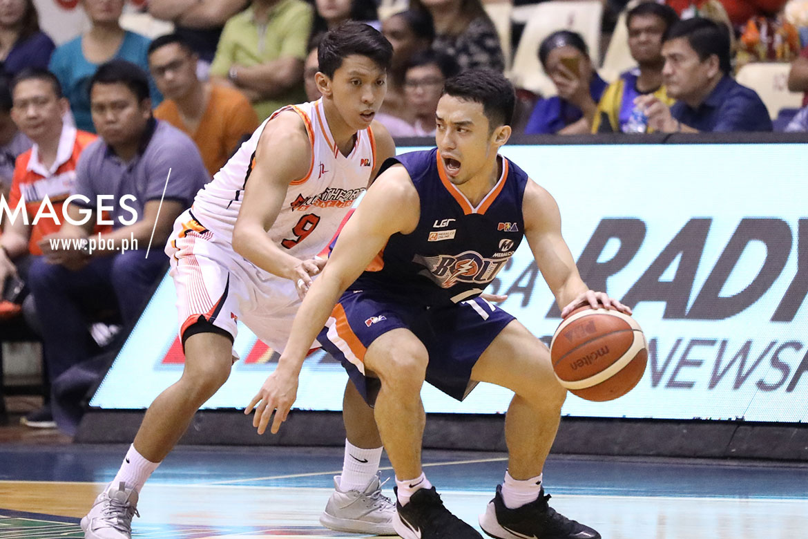 Tiebreaker Times Anjo Caram drops career-high 30 as Meralco clinches twice-to-beat Basketball News PBA  Sean Anthony Pido Jarencio PBA Season 44 Northport Batang Pier Norman Black Michael Qualls Meralco Bolts Christian Standhardinger Chris Newsome Anjo Caram Allen Durham 2019 PBA Governors Cup