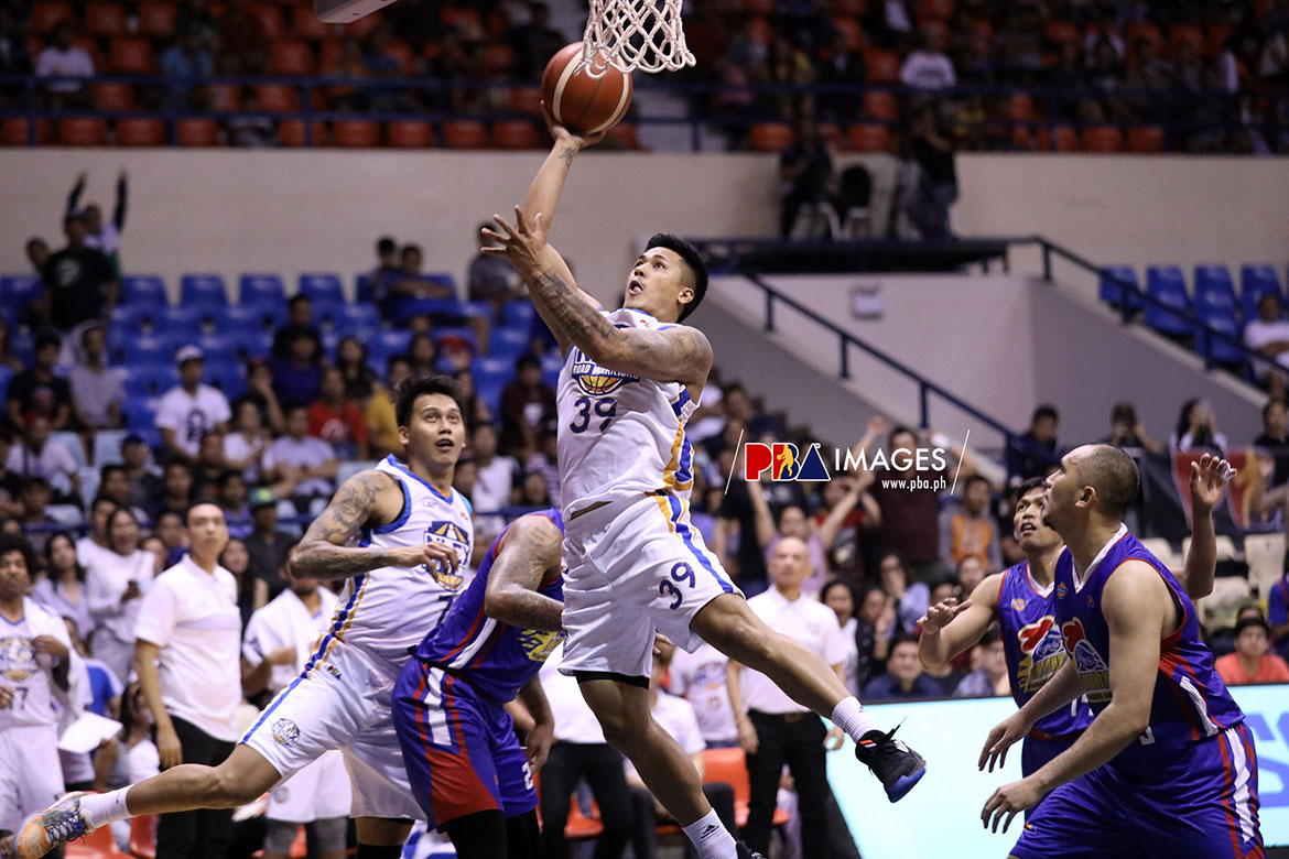 Tiebreaker Times Jericho Cruz was ready for Ravena's miss -- just like five years ago Basketball News PBA  PBA Season 44 Kiefer Ravena Jericho Cruz 2019 PBA Governors Cup