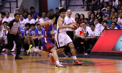Tiebreaker Times Kiefer Ravena relieved as Jericho Cruz cleans up crucial FT miss Basketball News PBA  PBA Season 44 NLEX Road Warriors Kiefer Ravena Jericho Cruz 2019 PBA Governors Cup