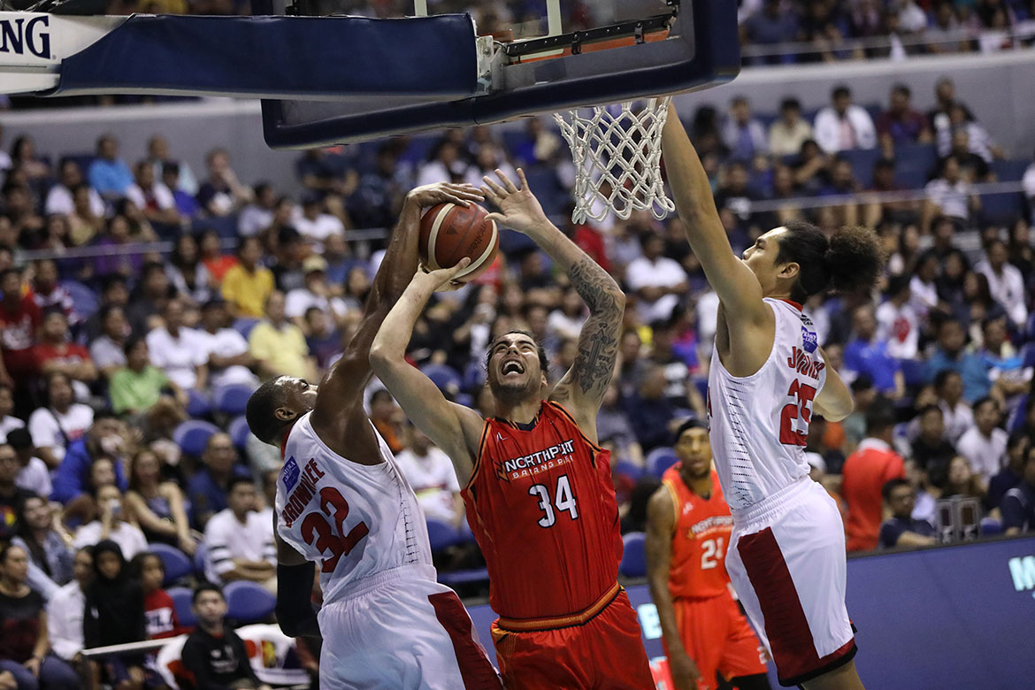 Tiebreaker Times Standhardinger looks to build winning culture for NorthPort come QF Basketball News PBA  PBA Season 44 Northport Batang Pier Christian Standhardinger 2019 PBA Governors Cup