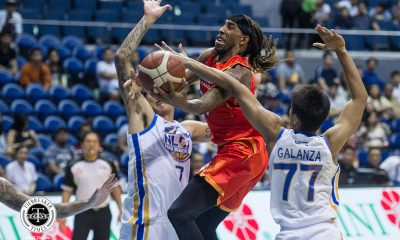 Tiebreaker Times Qualls says he got called the N-word, clears air on step on Varilla Basketball News PBA  PBA Season 44 Northport Batang Pier Michael Qualls 2019 PBA Governors Cup