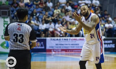 Tiebreaker Times Frustrated Romeo Travis unsure of Magnolia return Basketball News PBA  Romeo Travis PBA Season 44 Magnolia Hotshots 2019 PBA Governors Cup