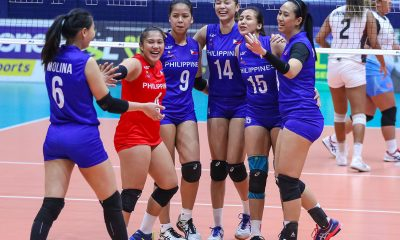 Tiebreaker Times Mau-less Nationals nip Team Sparkle in prelude to Tsukuba match News PSL Volleyball  Villet Ponce-de Leon Team Sparkle (PSL) Shaq delos Santos Rhea Dimaculangan Philippine Women's National Volleyball Team Mina Aganon Mika Reyes Jovelyn Gonzaga Eya Laure Ces Molina 2019 PSL Super Cup 2019 PSL Season