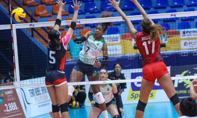 Tiebreaker Times Team Shine makes podium after escape of Team Sparkle News PSL Volleyball  Villet Ponce-de Leon Team Sparkle (PSL) Team Shine (PSL) Ranya Musa Patty Orendain MJ Phillips Carl Dimaculangan 2019 PSL Super Cup 2019 PSL Season