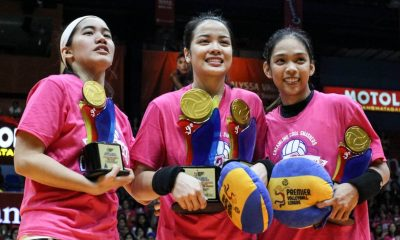 Tiebreaker Times Working under Bundit made Jema Galanza realize her dreams News PVL Volleyball  Jema Galanza Creamline Cool Smashers 2019 PVL Season 2019 PVL Open Conference
