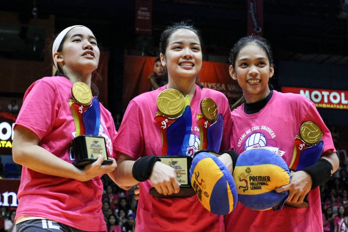 2019-pvl-open-conference-awarding-morado-x-galanza-x-atienza Paat can't wait to experience Galanza's staredowns in PVL News PVL Volleyball  - philippine sports news