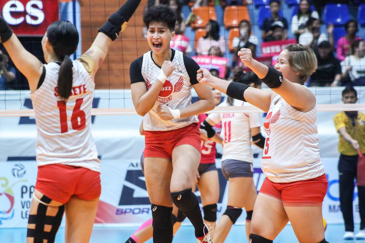 Tiebreaker Times Laniog says Petro Gazz needs to match Creamline's firepower come Game Two News PVL Volleyball  Petro Gazz Angels Arnold Laniog 2019 PVL Season 2019 PVL Open Conference