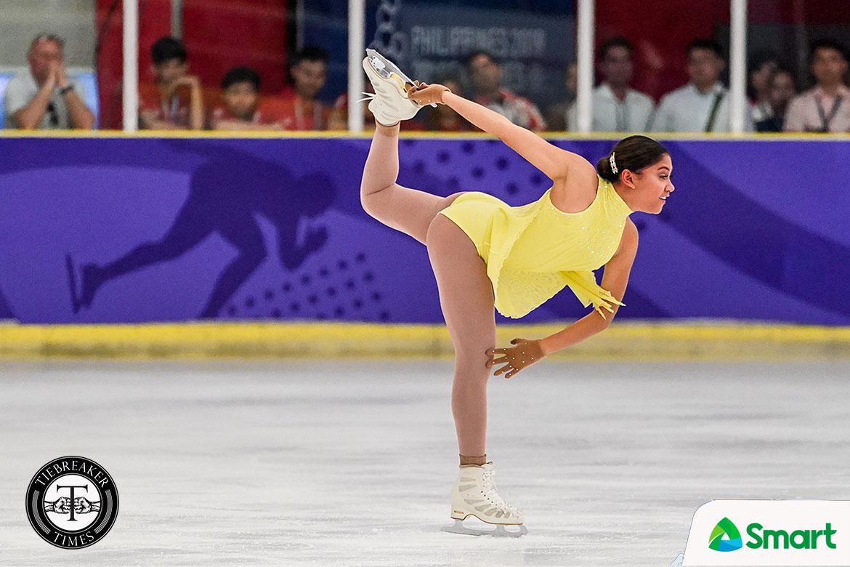 Tiebreaker Times Alisson Perticheto reigns over SEA Games ladies figure skating program 2019 SEA Games Figure Skating News  Cirinia Gillett Alisson Perticheto 2019 SEA Games - Figure Skating 2019 SEA Games