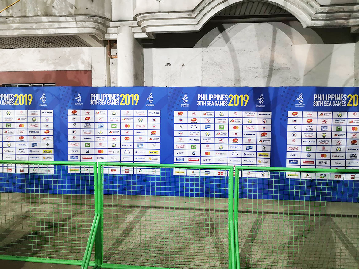 2019-sea-games-football-mixed-zone-rizal RMS scoreboard, press room, even CR not yet ready during start of SEA Games Football 2019 SEA Games Football News  - philippine sports news