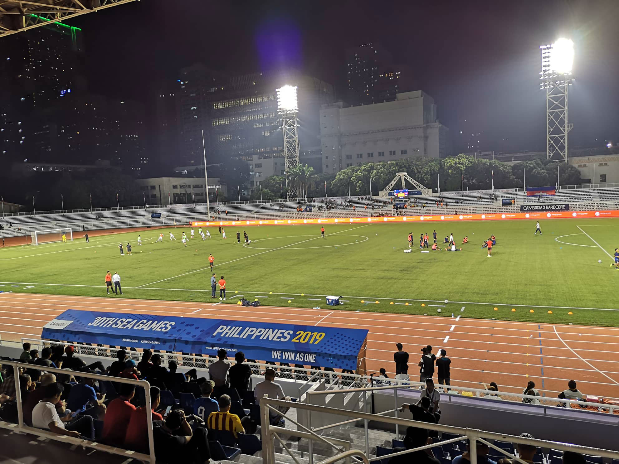 2019-sea-games-football-tribune RMS scoreboard, press room, even CR not yet ready during start of SEA Games Football 2019 SEA Games Football News  - philippine sports news