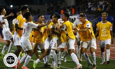 Tiebreaker Times Dennis Chung thrills as Azkals U22 salvage draw vs Cambodia 2019 SEA Games Football News Philippine Azkals  Stephan Schrock Philippine Under-22 Men's National Football Goran Milosevic Dylan De Bruycker Dennis Chung Cambodia (Football) Anthony Pinthus 2019 SEA Games - Football 2019 SEA Games