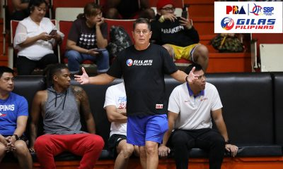 Tiebreaker Times Injuries continue to plague Gilas Pilipinas as Troy Rosario injures finger Basketball Gilas Pilipinas News  Tim Cone Gilas Pilipinas Men 2019 SEA Games - Basketball 2019 SEA Games