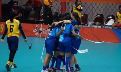 Tiebreaker Times Roxane Ruiz's late goal sends Philippine Women's Floorball to SEA Games bronze match 2019 SEA Games Floorball News  Teja Ellesa Mohzeiswandi Roxane Ruiz Philippine Women's National Floorball Team Nurfarah Md Yusof Michelle Cruzado Malaysia (Floorball) Ling Ling Ang Jade Rivera 2019 SEA Games - Floorball 2019 SEA Games