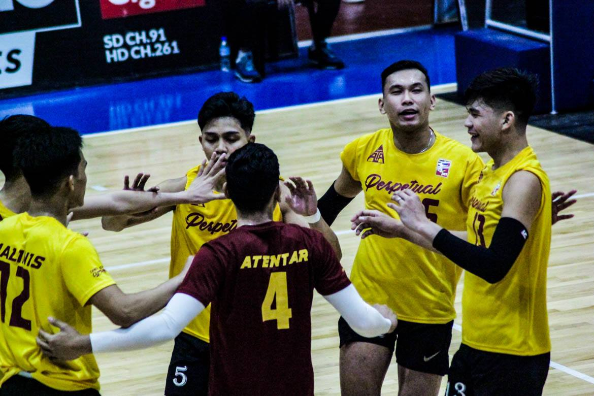 Tiebreaker Times Almodiel looks forward to NCAA after Perpetual's surprising Spikers' Turf run News Spikers' Turf UPHSD Volleyball  Perpetual Men's Volleyball Joebert Almodiel 2019 Spikers Turf Season 2019 Spikers Turf Open Conference