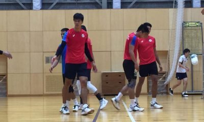 Tiebreaker Times PMNVT dealt harsh reality check by FC Tokyo in final tune-up with Bagunas News Volleyball  Rex Intal Philippine Men's National Volleyball Team Marck Espejo Kim Malabunga John Vic De Guzman Ish Polvorosa FC Tokyo Dante Alinsunurin Bryan Bagunas