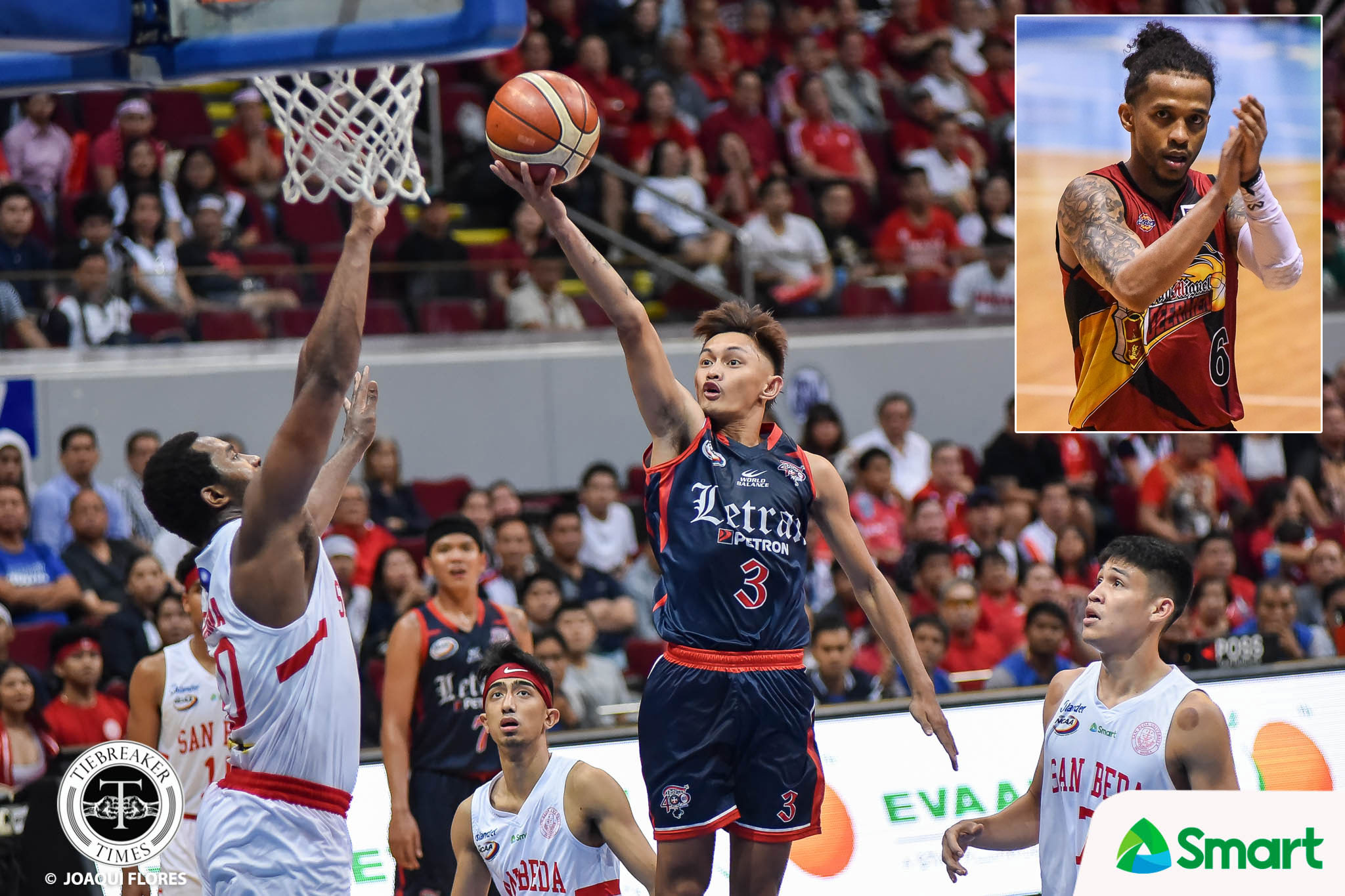 Tiebreaker Times 'Idol' Chris Ross reaches out to Fran Yu Basketball CSJL NCAA News PBA  NCAA Season 95 Seniors Basketball NCAA Season 95 Letran Seniors Basketball Fran Yu Chris Ross
