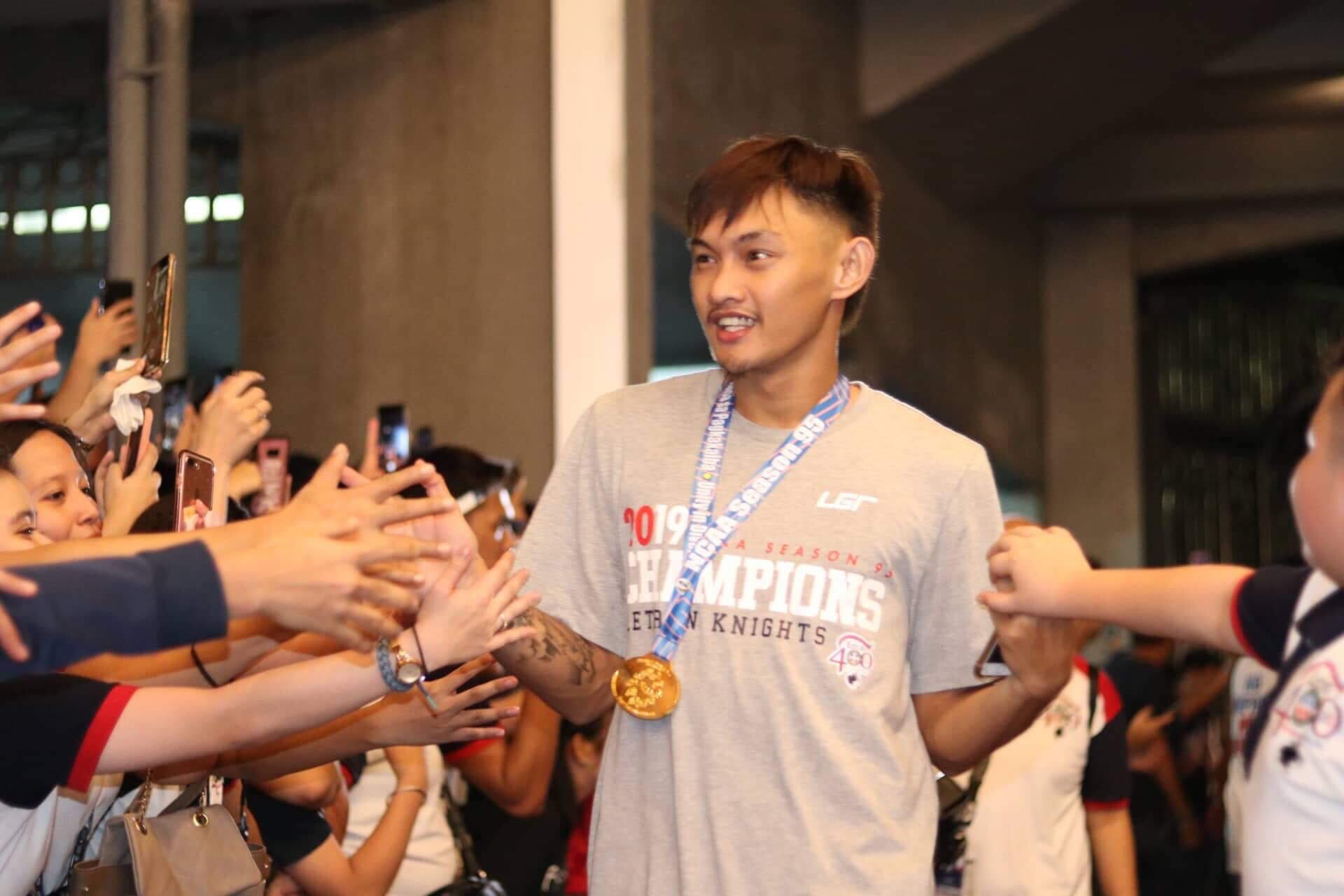 Tiebreaker Times Fran Yu bags Finals MVP trophy but loses NCAA championship medal Basketball CSJL NCAA News  NCAA Season 95 Seniors Basketball NCAA Season 95 Letran Seniors Basketball Fran Yu