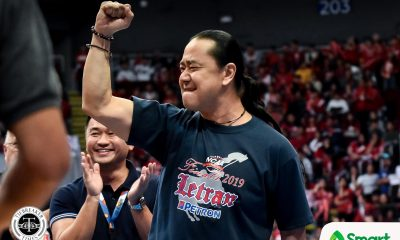 Tiebreaker Times Bonnie Tan grateful to 'think tank' for backing him up Basketball CSJL NCAA News  Pido Jarencio NCAA Season 95 Seniors Basketball NCAA Season 95 Letran Seniors Basketball Jerrick Balanza Jeff Napa Bonnie Tan Alfrancis Chua