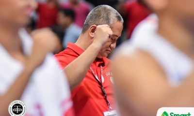 Tiebreaker Times Boyet Fernandez on end of San Beda streak: 'The pressure is off our backs' Basketball NCAA News SBC  San Beda Seniors Basketball NCAA Season 95 Seniors Basketball NCAA Season 95 Boyet Fernandez
