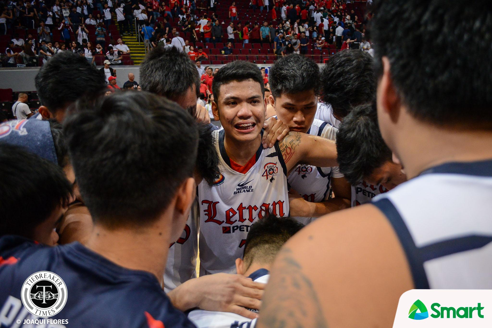 NCAA-95-SBU-vs.-CSJL-G2-Balanza-3183 Balanza's 'prophecy' comes true: 'Na-envision ko na pagbalik ko mag-champion kami' Basketball CSJL NCAA News  - philippine sports news