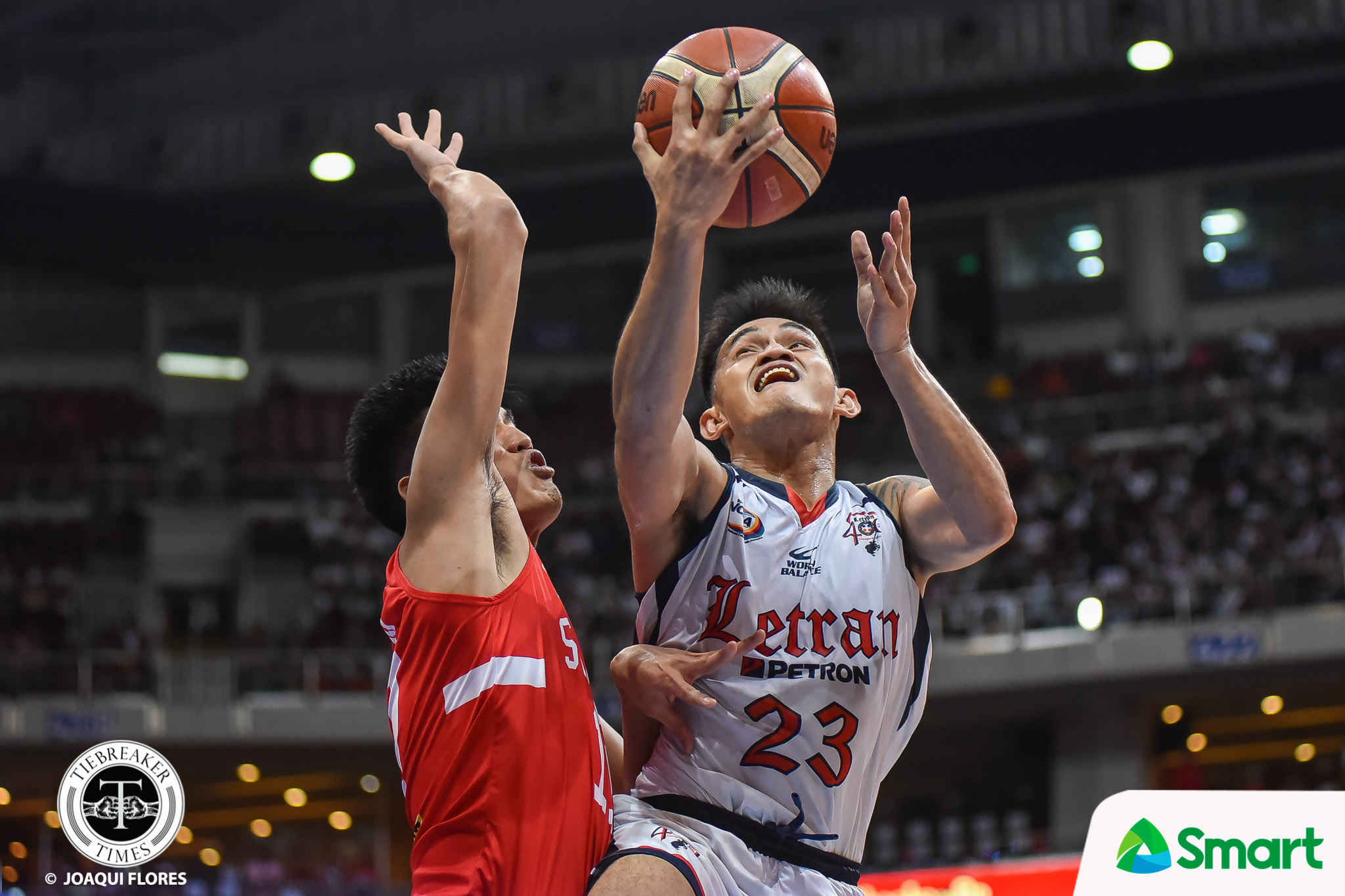 Tiebreaker Times Bonbon Batiller on botched layup: 'Isang layup na lang, champion na' Basketball CSJL NCAA News  NCAA Season 95 Seniors Basketball NCAA Season 95 Letran Seniors Basketball Bonbon Batiller