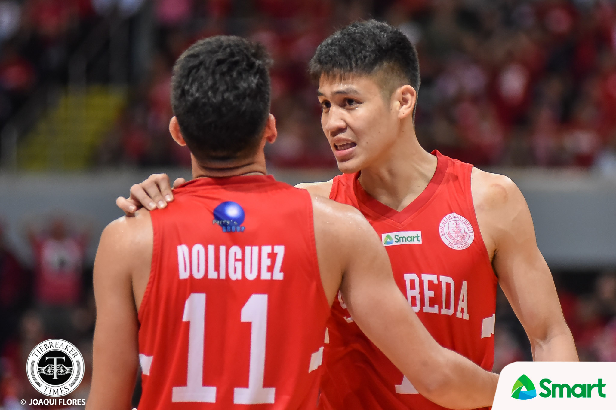Tiebreaker Times Calvin Oftana makes it up to San Beda Basketball NCAA News SBC  San Beda Seniors Basketball NCAA Season 95 Seniors Basketball NCAA Season 95 Calvin Oftana