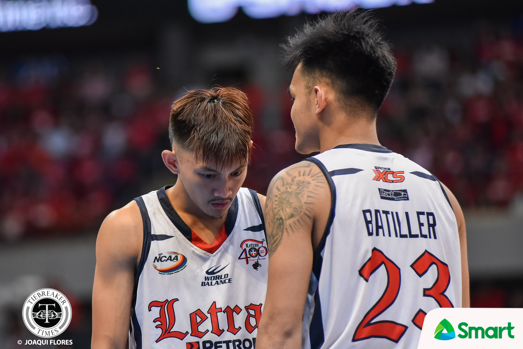 Tiebreaker Times Chris Ross all praises for Fran Yu: 'He doesn't need me' Basketball CSJL NCAA News  NCAA Season 95 Seniors Basketball NCAA Season 95 Letran Seniors Basketball Fran Yu Chris Ross