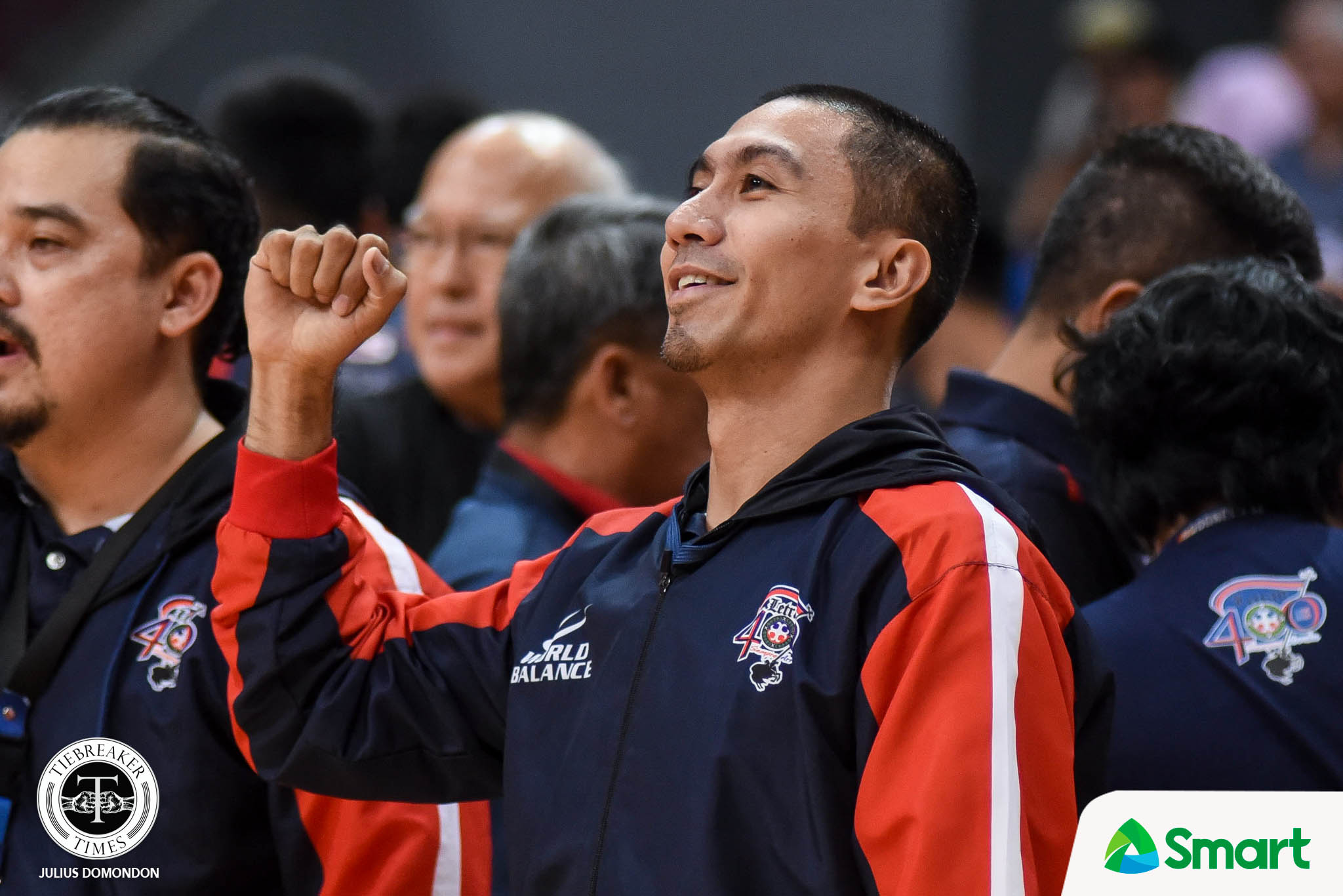 Tiebreaker Times LA Tenorio has mixed emotions in Letran-San Beda clash Basketball CSJL NCAA News SBC  NCAA Season 95 Seniors Basketball NCAA Season 95 Letran Seniors Basketball LA Tenorio