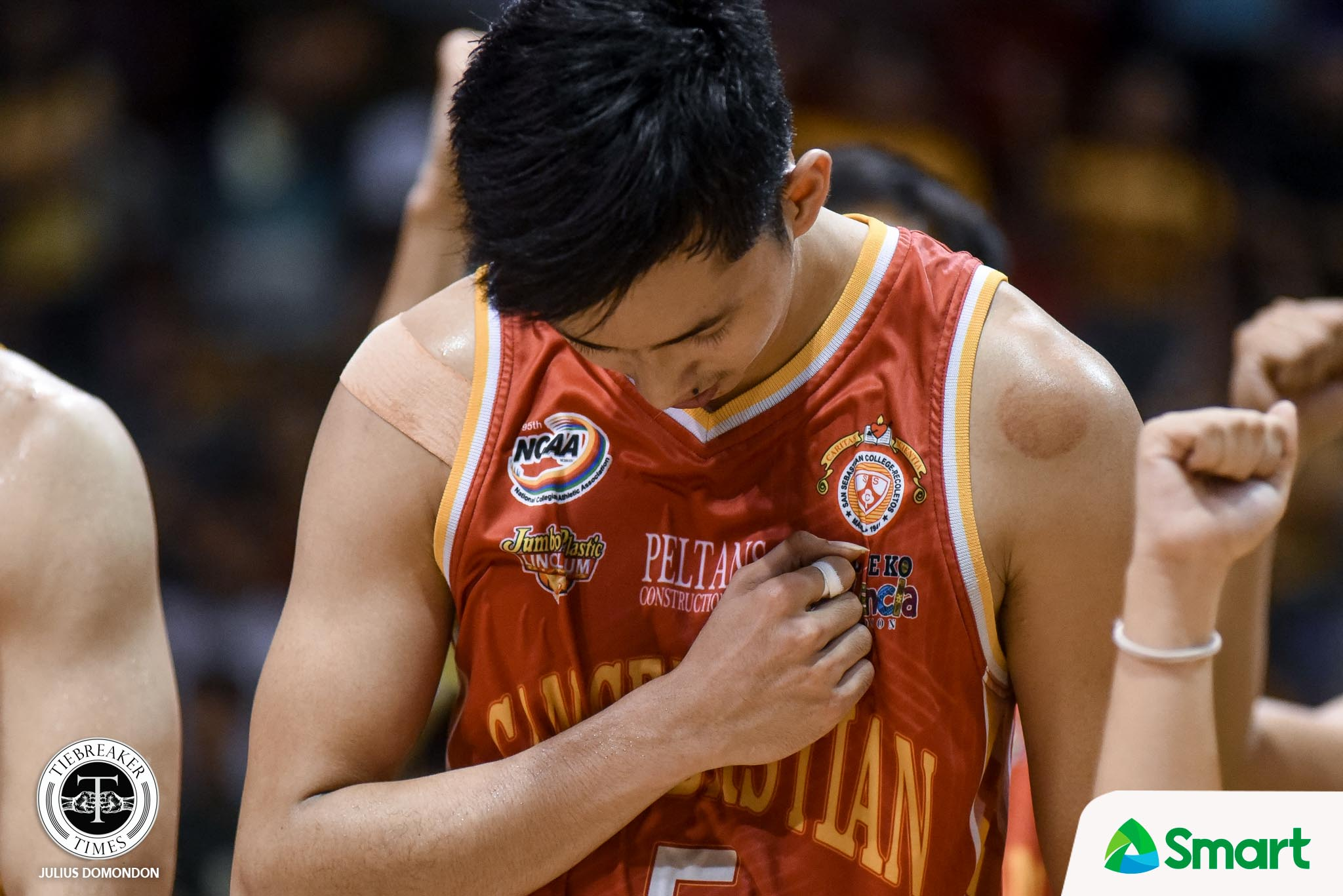 NCAA-Season-95-CSJL-def-SSCR-Bulanadi-sad Allyn Bulanadi glad to defy mock drafts after being selected to Gilas Cadets Basketball Gilas Pilipinas MPBL News PBA  - philippine sports news