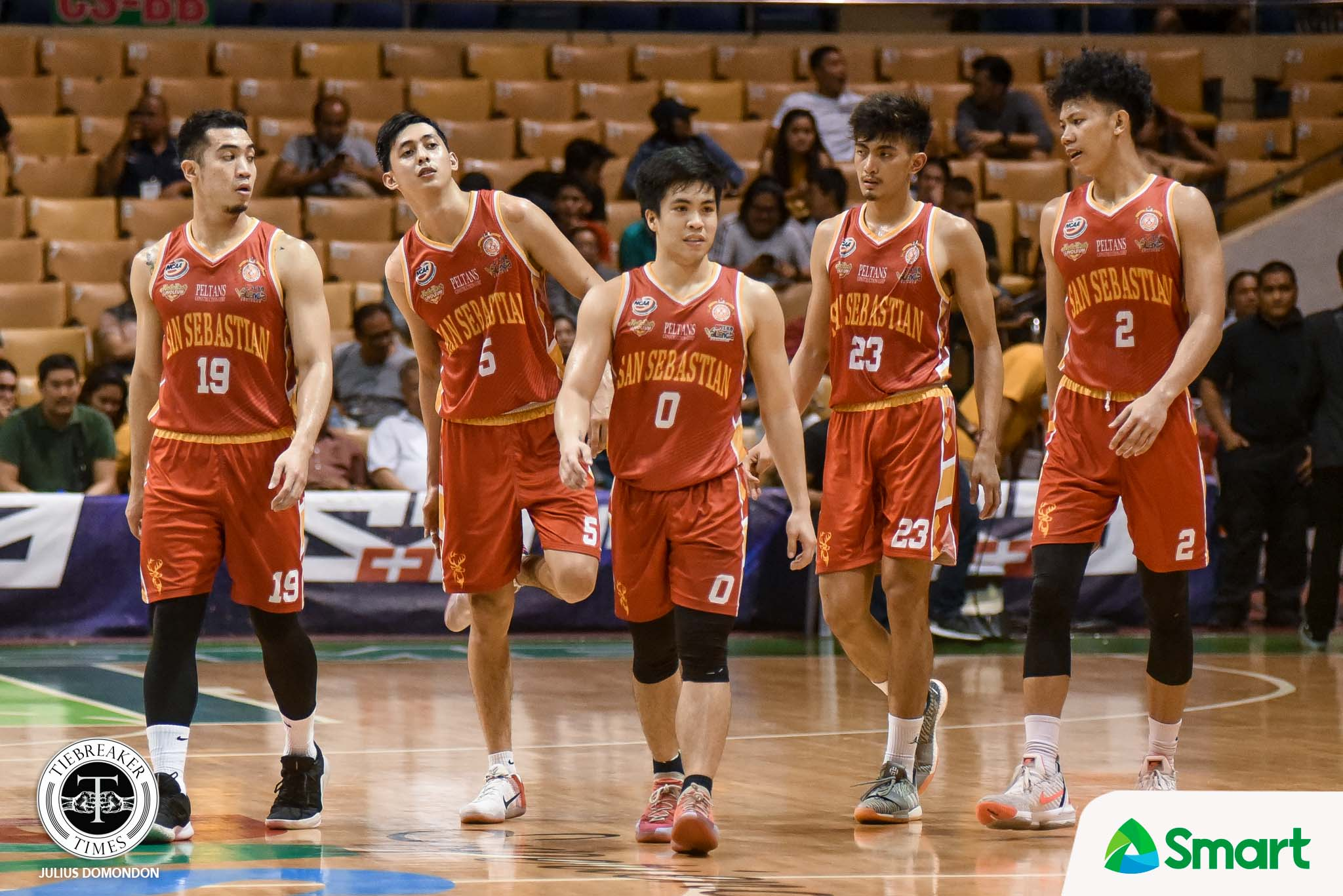 Tiebreaker Times RK Ilagan gave it his all for his seniors Basketball NCAA News SSC-R  San Sebastian Seniors Basketball RK Ilagan NCAA Season 95 Seniors Basketball NCAA Season 95 Jerrick Balanza allyn bulando