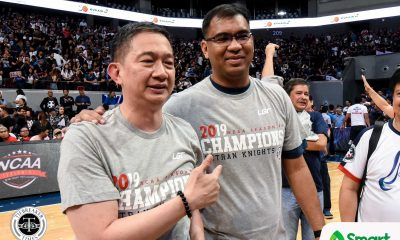Tiebreaker Times Jeff Napa officially back in Letran, named team consultant Basketball CSJL NCAA News  NCAA Season 96 Seniors Basketball NCAA Season 96 Letran Seniors Basketball Jeff Napa