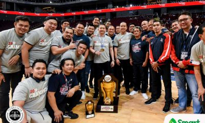 Tiebreaker Times Alfrancis Chua can now call Bonnie Tan 'coach' Basketball CSJL NCAA News  NCAA Season 95 Seniors Basketball NCAA Season 95 Letran Seniors Basketball Bonnie Tan Alfrancis Chua
