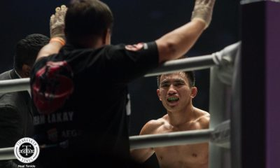 Tiebreaker Times Joshua Pacio ends Rene Catalan's streak, retains Strawweight crown Mixed Martial Arts News ONE Championship  Team Lakay Rene Catalan ONE: Masters of Fate Joshua Pacio Catalan Fighting System
